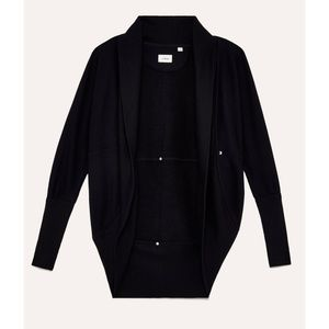 ARITZIA WILFRED diderot black cardigan sweater